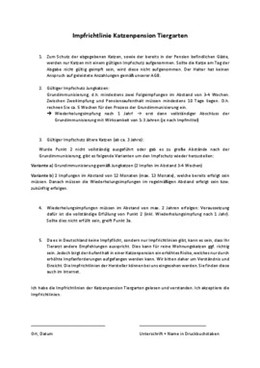 Impfrichtlinie